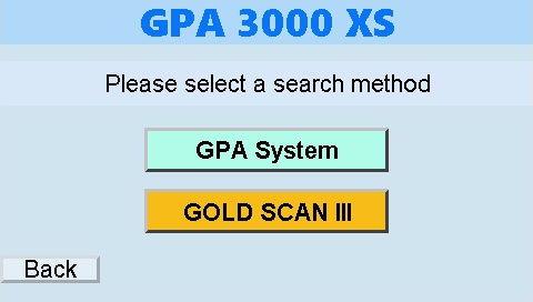 gpa 3000显示主菜单