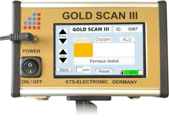 KTS Electronic GOLD SCAN III electronic unit