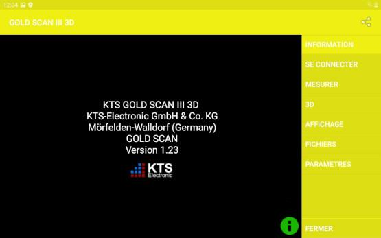 KTS-Electronic - GOLD SCAN III software info