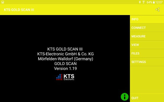 kts gold scan software info