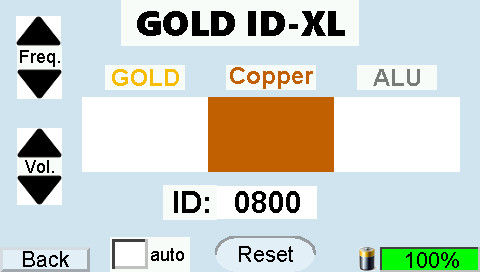 GOLD-ID-XL display Copper