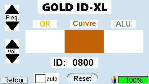 GOLD ID-XL Display Copper