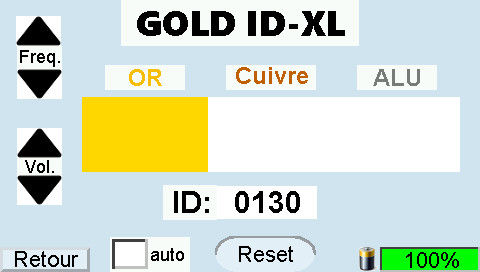 GOLD ID-XL Display Gold